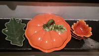 Hallowe'en Decor and Dishes