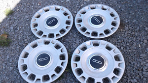 Hubcaps off fiat 500 set of 4