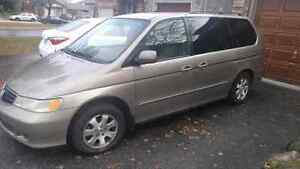 2003 Honda Odyssey. Sold as is!!