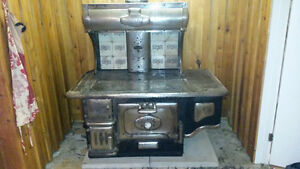 antique wood cooking stove