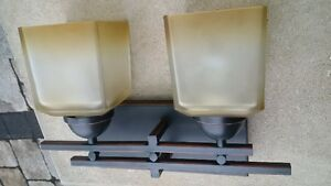 Pair of Oil Rub Bronze Wall Lights Kitchener / Waterloo Kitchener Area image 1