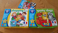Orchard Toys Educational Games for 3-6 years old