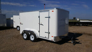 Brand New 2017 Cargo Express 7x12 tandem axle enclosed trailer