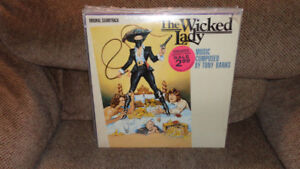SEALED LP RECORD ALBUM VINYL THE WICKED LADY ORIGINAL SOUNDTRACK