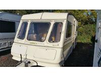 Abbey GTS 214 1986/7 2 Berth End Kitchen Touring Caravan