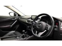 2015 Mazda 6 Mazda Saloon Sport Nav Petrol blue Manual