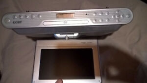 UNDERMOUNT TV ,Radio, DVD player, cable ready
