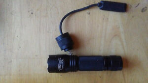 Walther tactical flashlight