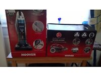 Hoover Breeze and Hoover whirlwind vacuum cleaners