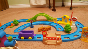 Multiple Train toys