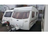 LUNAR GALAXY 556 6 BERTH FIXED BUNK BEDS £5995