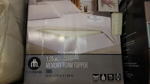 NEW Mattress Topper - Twin size Cambridge Kitchener Area image 1