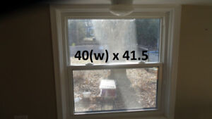 Window – Single/Double Hung, Various Sizes, 40(w) and Wider