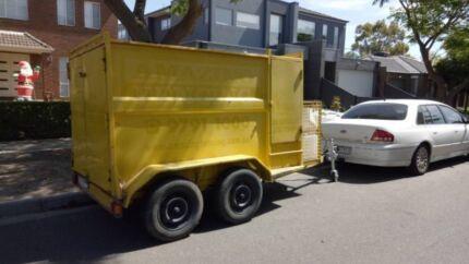 TANDEM BOX TRAILER ..suited to Landscaper/Mowing/Garden Business