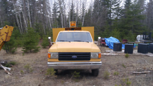 87 F350 6.9 4 speed with pto