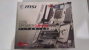 Msi, Z270 Xpower gaming, Titanium