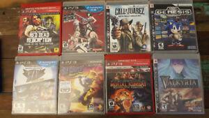 Jeux PS3 usagés (CIB, comme neufs)