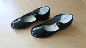 Tap shoes, size 8 1/2 child