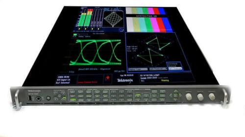 Tektronix WVR7200 HD/SD Waveform Rasterizer EYE-3G Opt. CPS EYE AD PHY3 WVR 7200