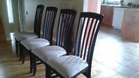 Chaises de cuisine (4)