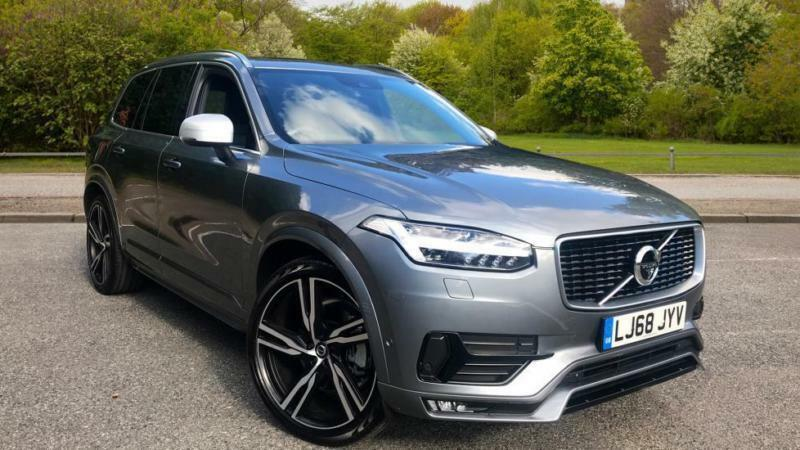 2018 volvo xc90 2 0 t6 awd r design auto with automatic. Black Bedroom Furniture Sets. Home Design Ideas