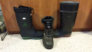 GREAT DEAL-3 Pair Safety boots for  $100.00