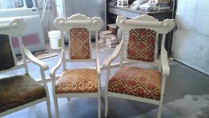 Set de 4 chaises antiques années 20