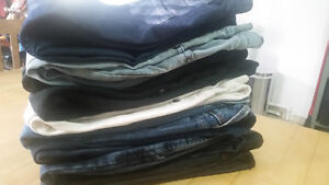 9 Awesome Pairs of Jeans (size 25 fit)
