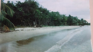 Private 20 Acres  Ocean Front Lot in Belize Only $340,000.00 Cdn