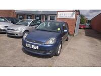 2006 / 06 Ford Fiesta 1.6 TDCi Ghia 5 Door Full MOT+Full Leather+Warranty