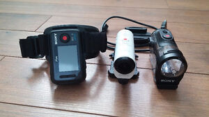 Sony Action Cam Mini with Wifi - HDRAZ1