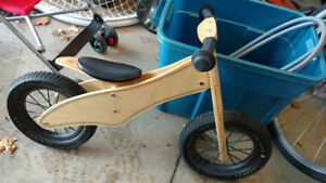 Prince Lionheart balance bike with adjustable seat