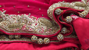 Wedding lengha/bridal dress/bridal gown/ Pakistani/Indian outfit