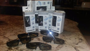 3-D Glasses for Panasonic Viera 3-D TV Kitchener / Waterloo Kitchener Area image 1