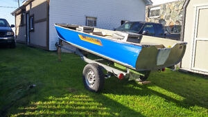 14 foot harbercraft and trailer