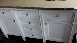 New double sink Vanity $600. Damage Blow out
