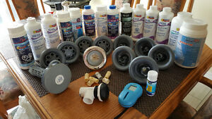 Chemicals and spa accessories