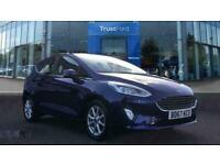 2017 Ford Fiesta 1.1 Zetec Navigation 5dr ** Bluetooth ** Manual Hatchback Petro