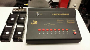 LeMaitre 8 Way Pyro Flash Controller
