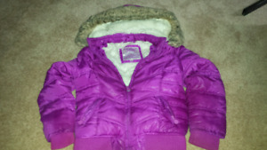 Girls 6/7 winter coat