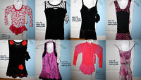 ALL BRAND NEW WITH TAGS Twizzle Skating Dresses