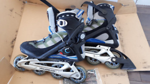 Aero 9W The Skate Co Rollerblades - Excellent Condition Size 8 W