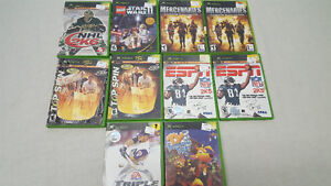 Assorted XBox Games $5.00 and Up