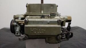 New Rare Vintage Holley 450 cfm 4150 Carb with Automatic Choke