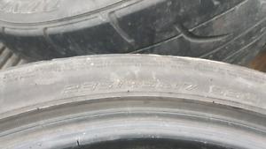 235/45r17 Dunlop tires