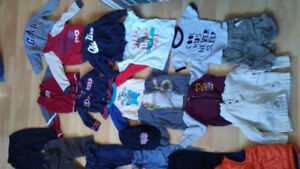 12 to 18 month baby/toddler boy clothing lot