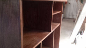 Solid Oak stained display case Kitchener / Waterloo Kitchener Area image 2