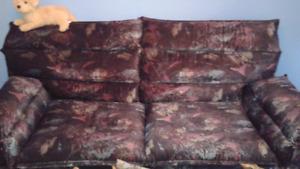 el-ran, chaise berçante et divan-lit