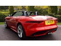 2018 Jaguar F-TYPE 3.0 (380) Supercharged V6 R-Dy Automatic Petrol Convertible