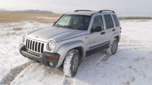 Reliable Jeep Liberty! 4 x 4 !$2600 Firm!